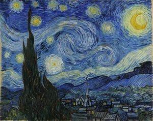 """""""Notte stellata"""" di Vincent van Gogh. Un'arte del sentire"""