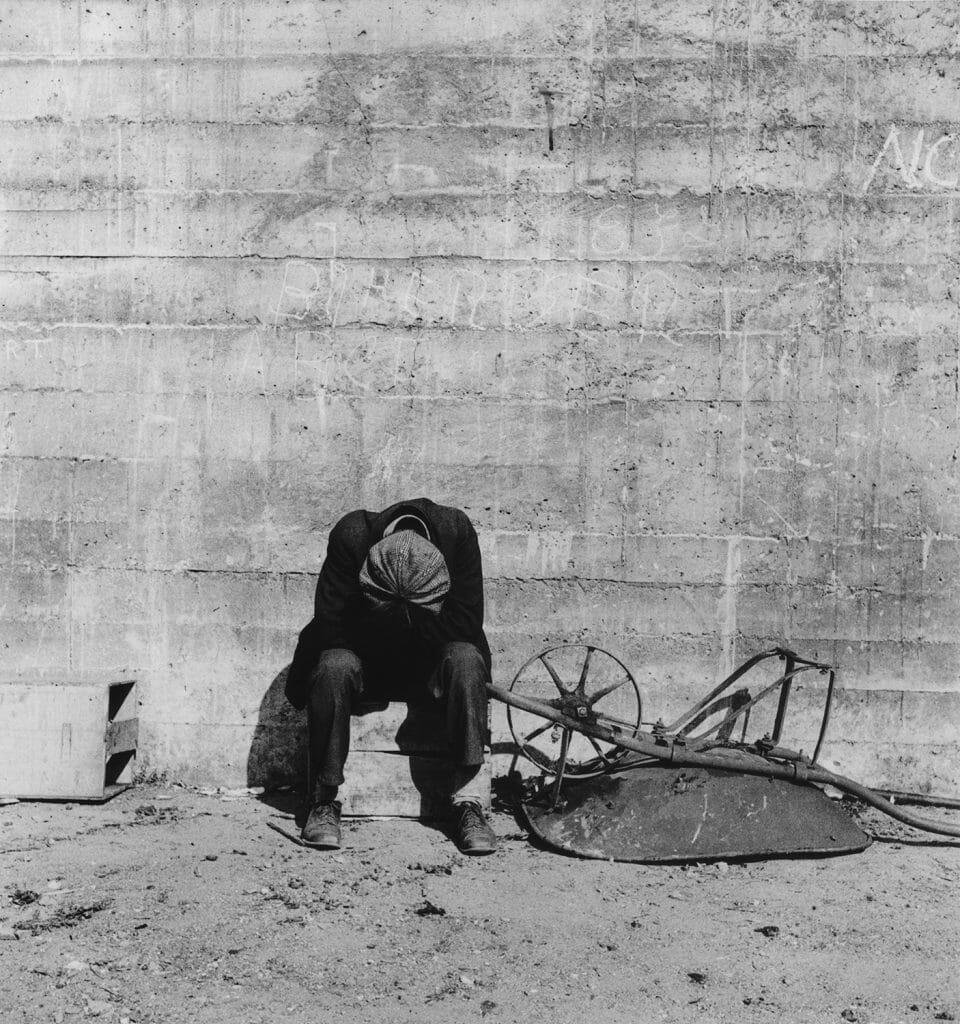 """Migrant Mother"" di Dorothea Lange"