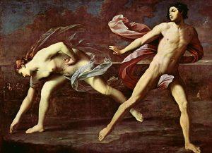 'Atalanta e Ippomene' di Guido Reni. In corsa per l'amore
