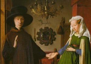 'I coniugi Arnolfini' di Jan van Eyck e il nuovo colore