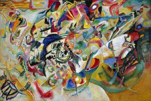 Composizione VIII di Kandinskij. Musica in linguaggio visivo