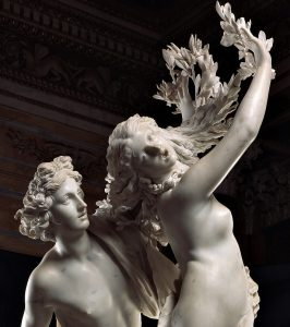 'Apollo e Dafne' di Bernini. Metamorfosi scolpita in marmo