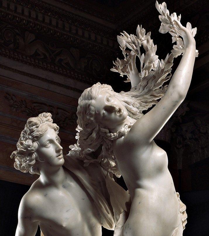 """""""Apollo e Dafne"""", il volto disperato del successo di Bernini"""