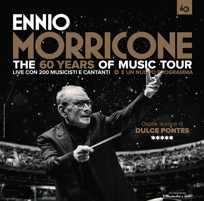 """Ennio Morricone, the 60 years of music tour"", il concerto incanta Roma"