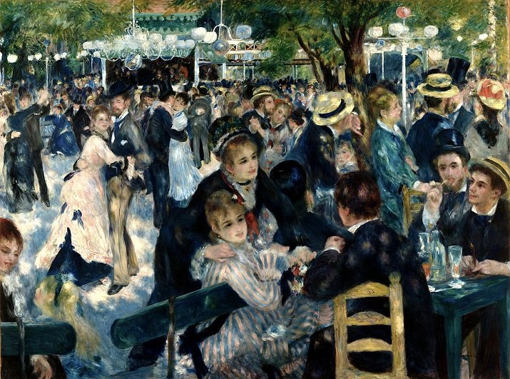 Moulin de la Galette di Renoir