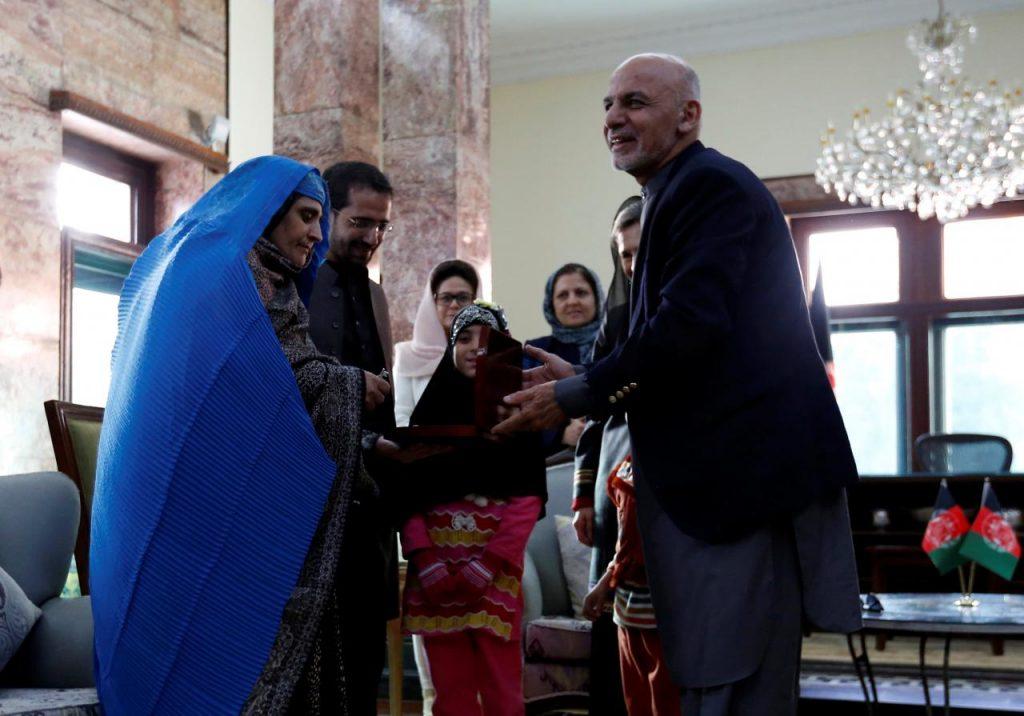 Sharbat Gula e l'incontro col fotografo
