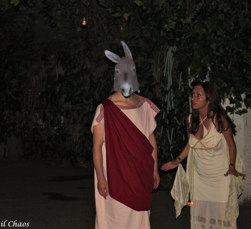 Le Metamorfosi di Apuleio teatralizzate