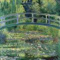 Lo stagno delle ninfee, armonia verde di Monet