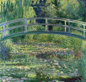 Lo stagno delle ninfee, armonia verde di Monet. Oasi di pace