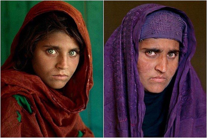 """""""Ragazza afgana"""" di Steve McCurry, occhi inquieti che scavano l'anima"""