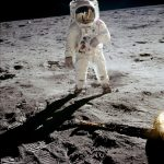"""A man on the moon"", Apollo 11 sulla Luna. Le foto di Neil Armstrong"
