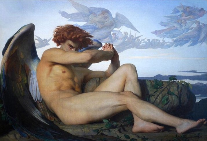 """The fallen Angel"" di Alexandre Cabanel"