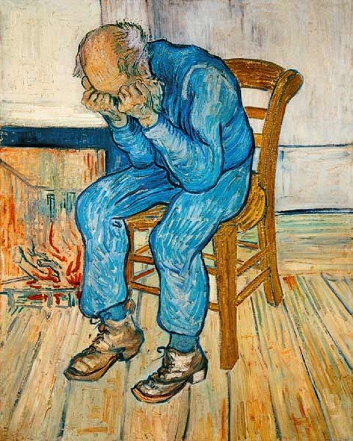 Sulla soglia dell'eternità di van Gogh