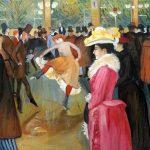 Ballo al Moulin Rouge di Toulouse Lautrec