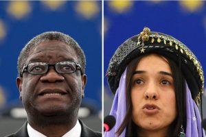 Premio Nobel per la Pace a Denis Mukwege e Nadia Murad