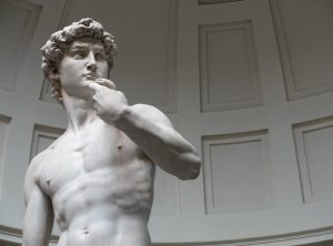 David di Michelangelo Buonarroti. Il simbolo di un eroe