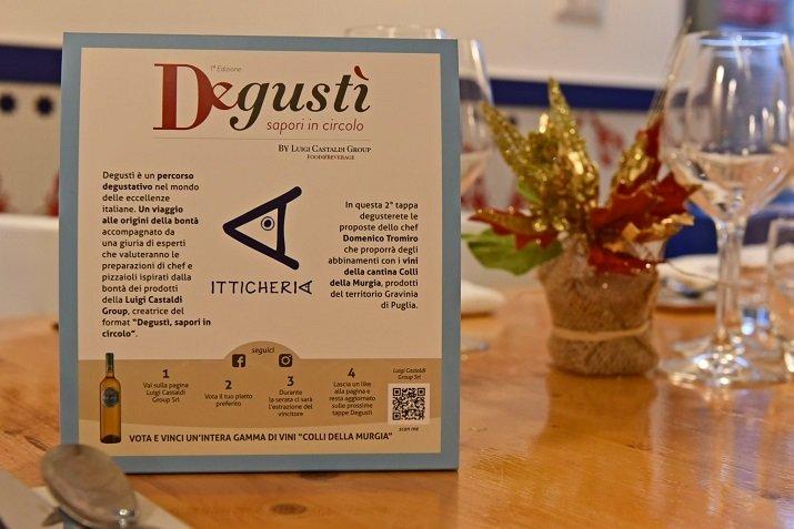 Itticheria ospita Degustì