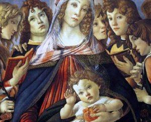 """""""La Madonna della Melagrana"""" di Botticelli sorprende ancora"""