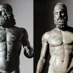 I bronzi di Riace, scultura