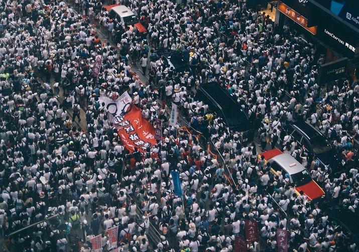 Proteste ad Hong Kong