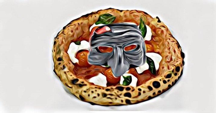 Pizza, chef, Carnevale. Maria Marì