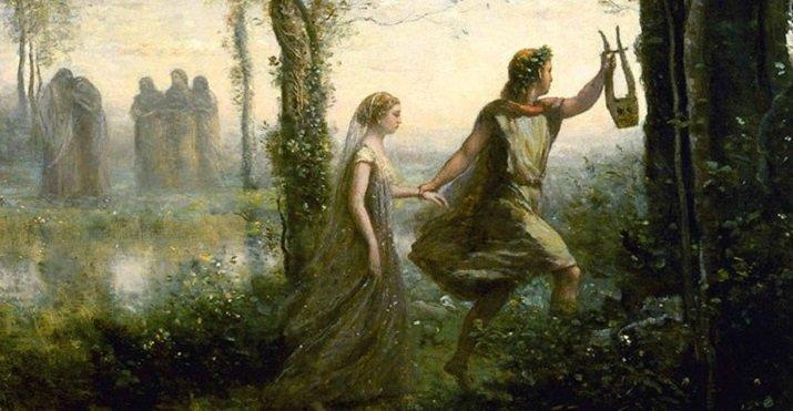 """Orfeo e Euridice"" di Dino Borcas"