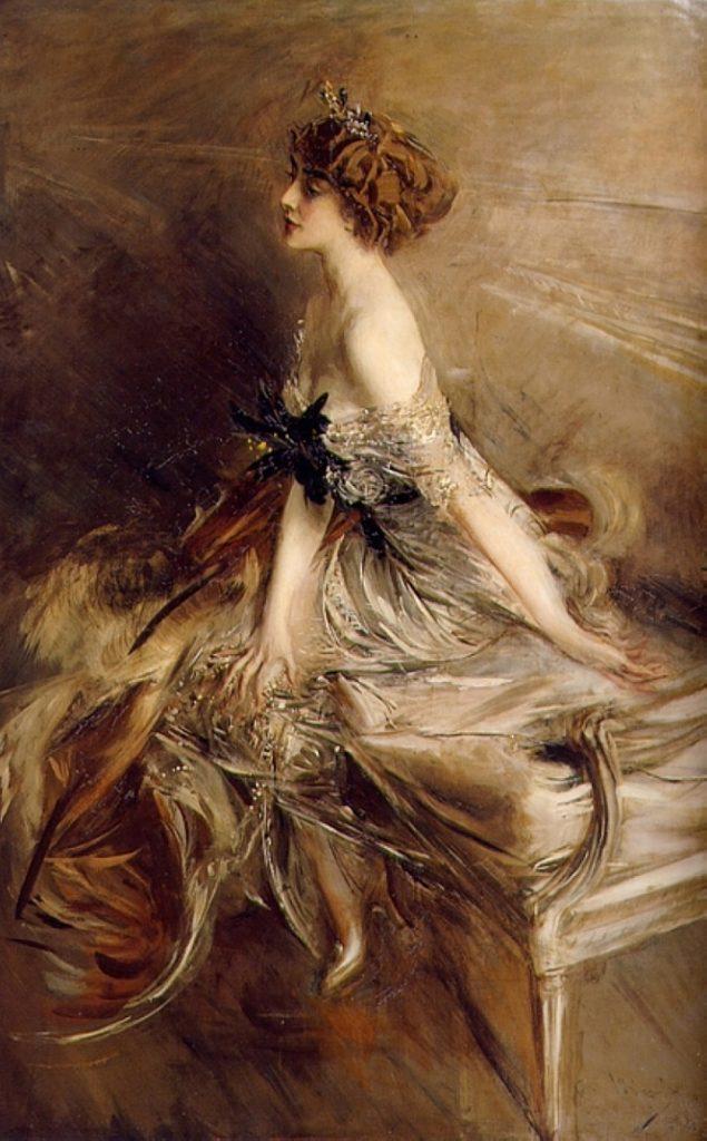 Ritratto di Marthe-Lucile Bibesco di Giovanni Boldini