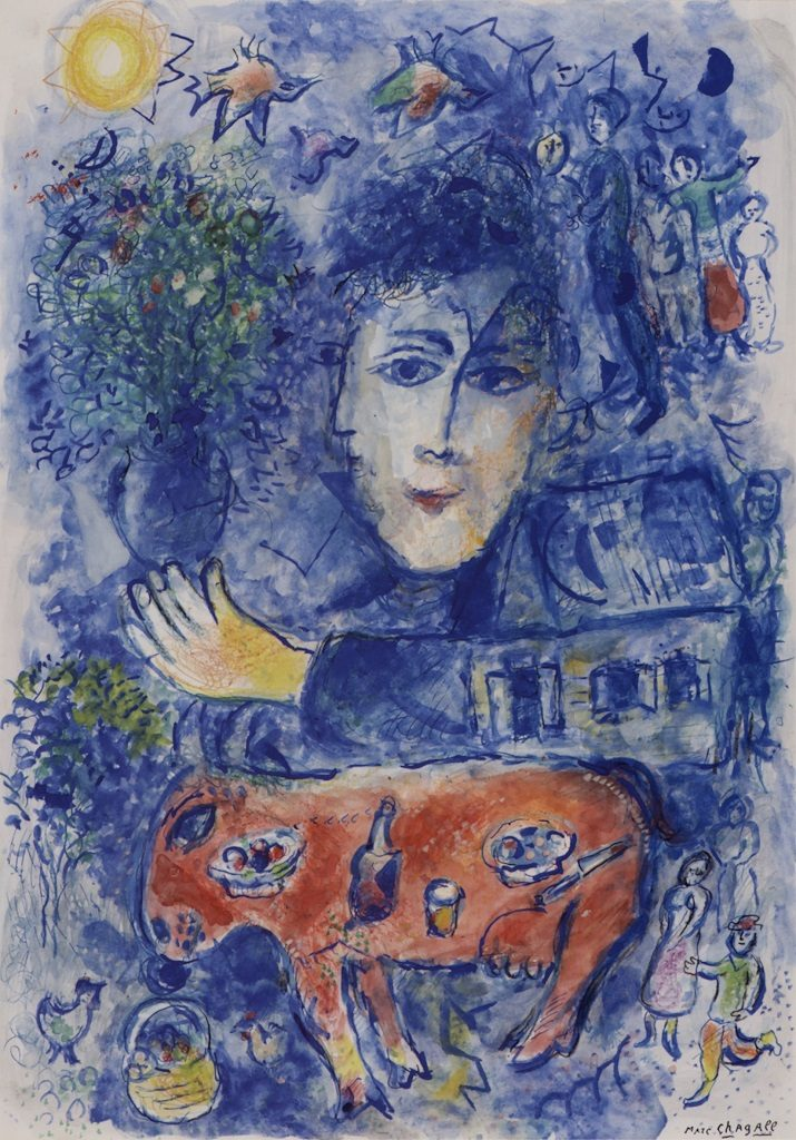 L'arte di Marc Chagall in un mondo onirico e fiabesco