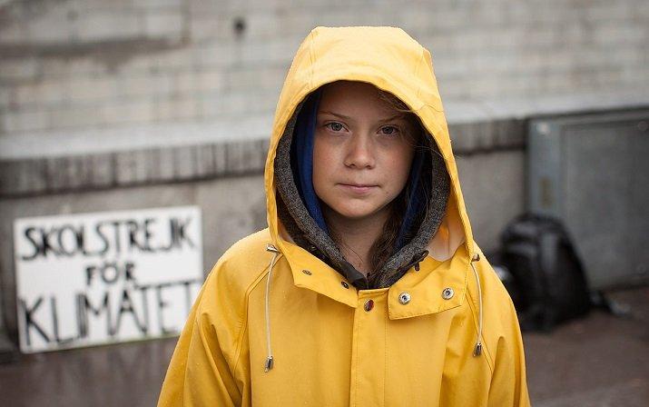 Greta Thunberg ambientalista per il cambiamento climatico