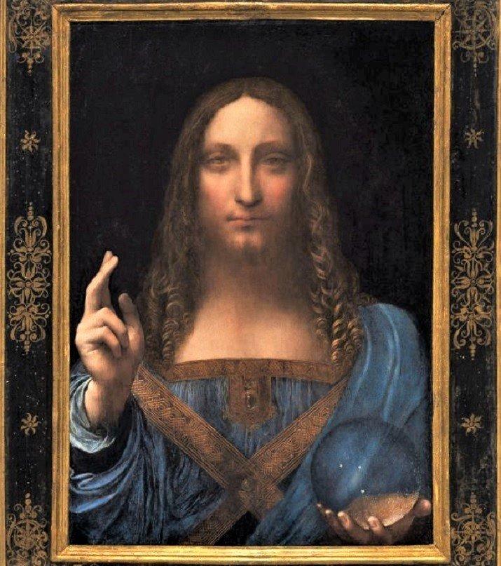 Salvator Mundi di Leonardo da Vinci