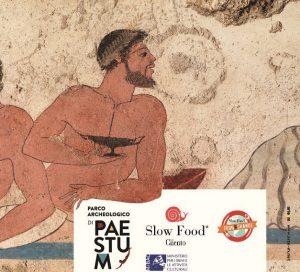 Degustazione Slow Food Cilento tra le antiche rovine di Paestum