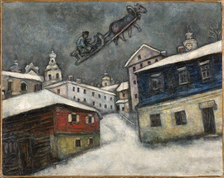 Mostra su Chagall, Sogno d'amore