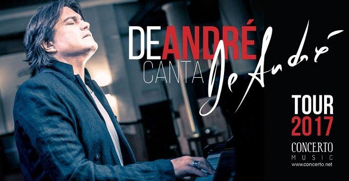 Concerto di Cristiano De André canta De André