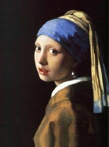 'Ragazza col turbante' di Jan Vermeer dallo sguardo misterioso