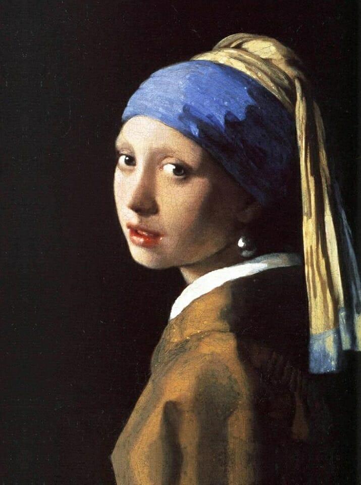 Ragazza col turbante di Jan Vermeer