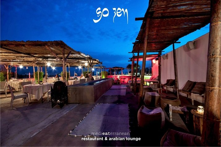 So Zen, lounge bar restaurant. Lounge bar a Pompei e ristorante zen