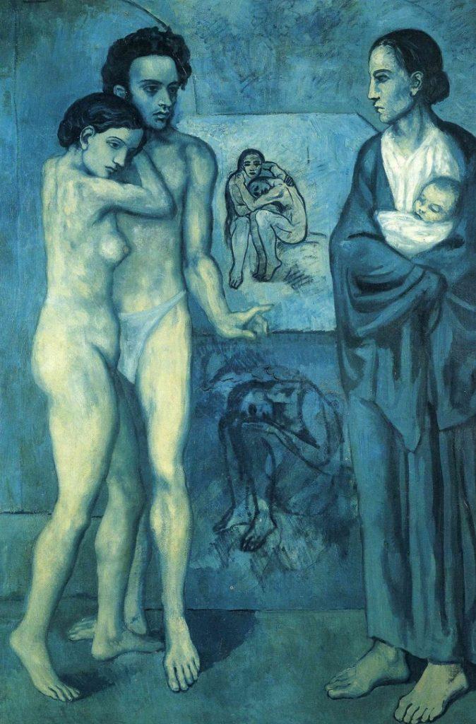 La vie, La vita di Pablo Picasso
