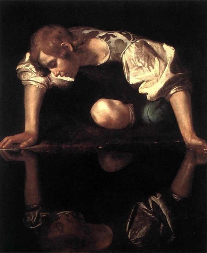Narciso di Caravaggio, Michelangelo Merisi