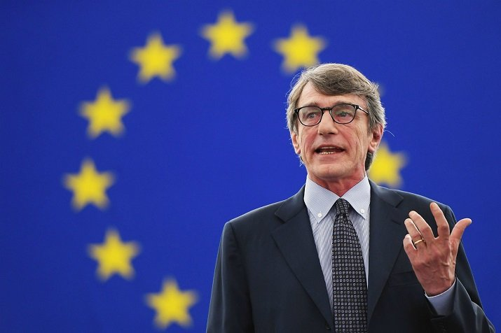 David Sassoli, Presidente del Parlamento Europea