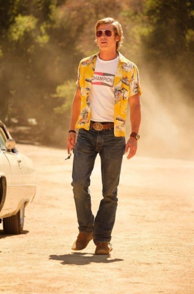 a Hollywood di Quentin Tarantino. Brad Pitt