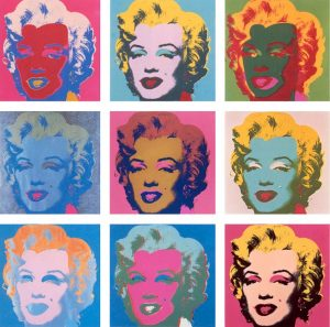 Marilyn Monroe di Andy Warhol resa immortale dalla Pop Art