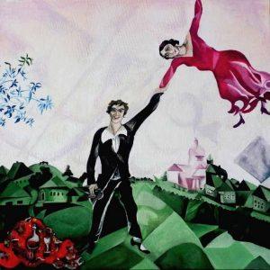 La passeggiata di Marc Chagall. Un amore onirico e fiabesco