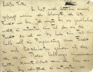 'Lettera al padre' di Kafka. L'inadeguatezza di vivere.