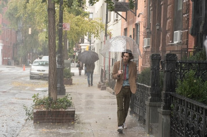 'Un giorno di pioggia a New York' di Woody Allen