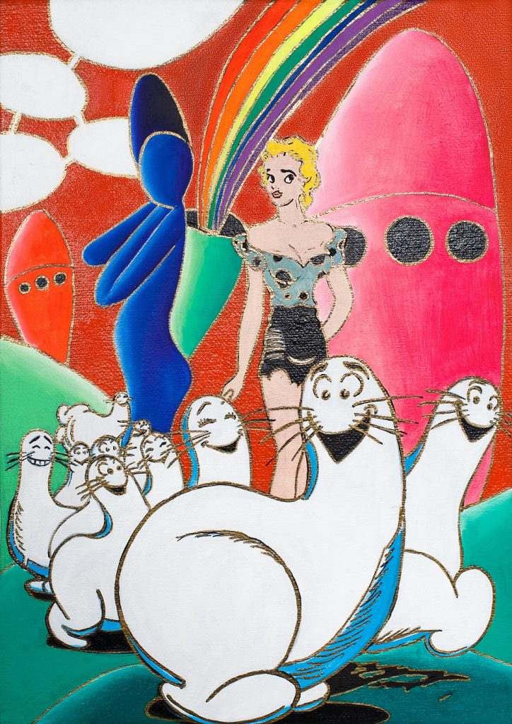 'Il colore della fantasia' di Giancarlo Montuschi