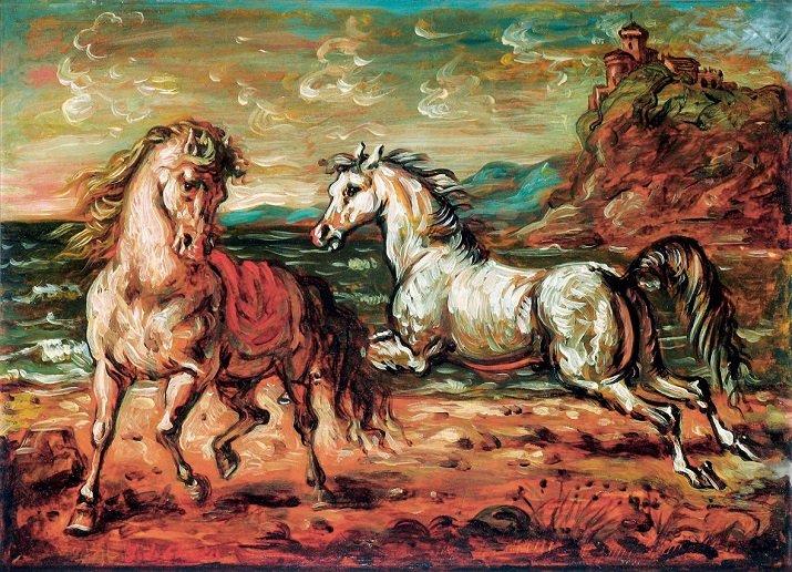 I cavalli di De Chirico