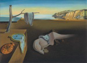 'La persistenza della memoria' di Salvador Dalì sul tempo
