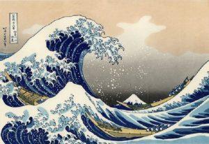 Trentasei vedute del monte Fuji di Hokusai. Divina indifferenza
