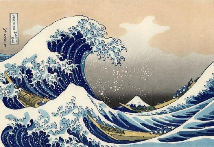 La grande onda di Hokusai. Trentasei vedute del monte Fuji