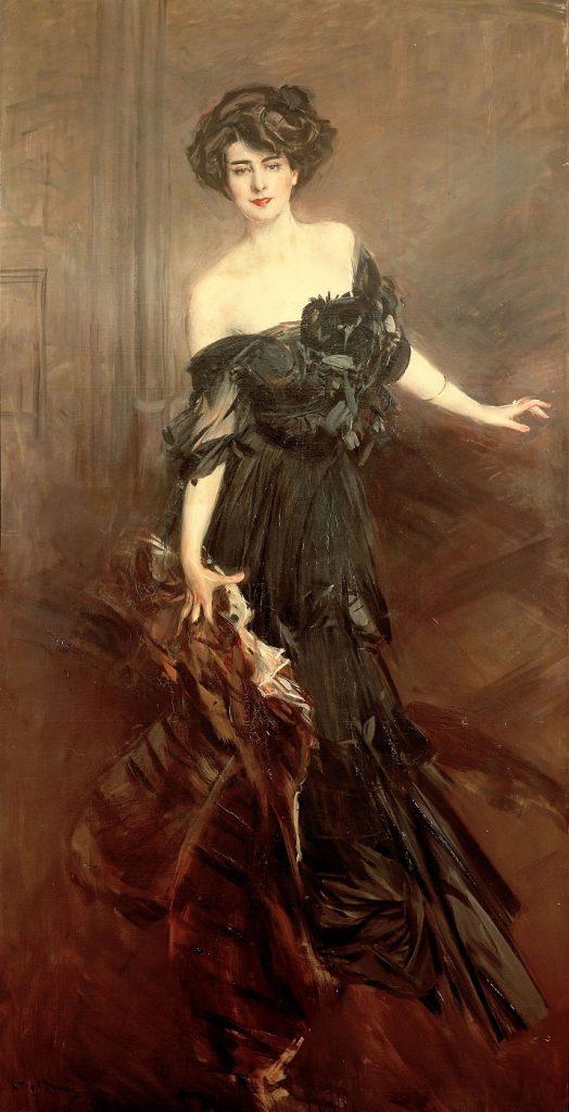 Ritratto di Mademoiselle de Nemidoff di Giovanni Boldini